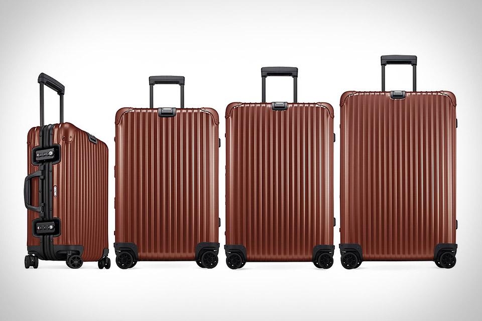 Rimowa Topas Copper Luggage