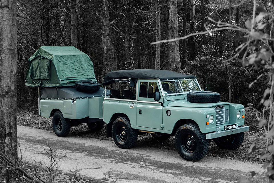 Land Rover Series III Adventuremobile