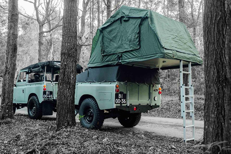 Land Rover Series III Adventuremobile
