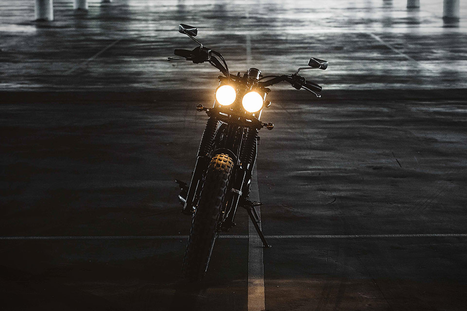Deus Ex Machina Two-Up Yamaha Motorcycle