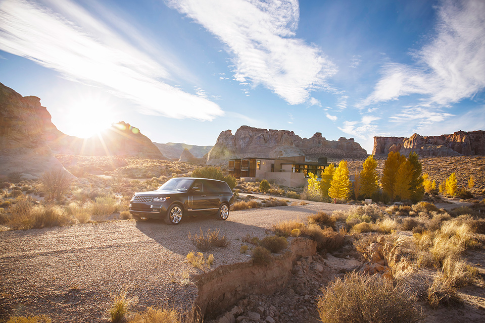 Abercrombie & Kent Range Rover Road Trip