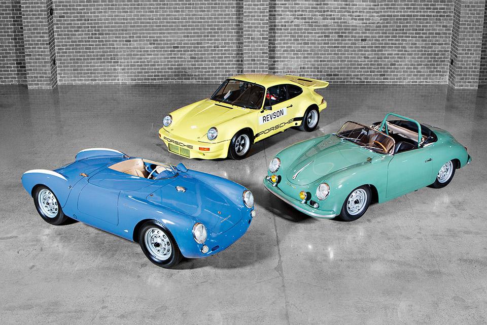 Jerry Seinfeld's Porsche Trio