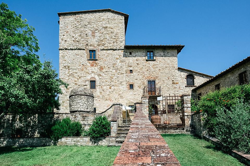 Michelangelo's Tuscan Villa