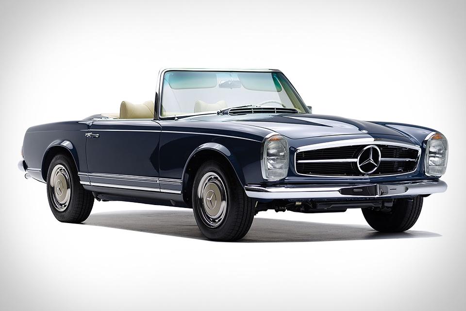 1968 mercedes benz 280 sl pagoda uncrate for Mercedes benz 280sl pagoda