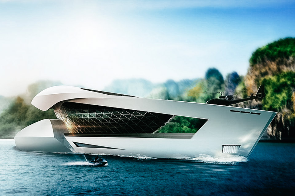 Sea Level CF8 Concept Yacht