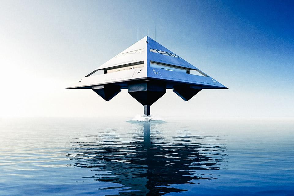 Schwinge Hyswas Tetrahedron Superyacht