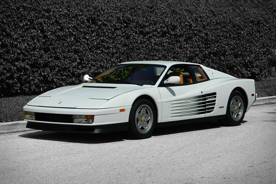 The Wolf Of Wall Street's 1991 Ferrari Testarossa