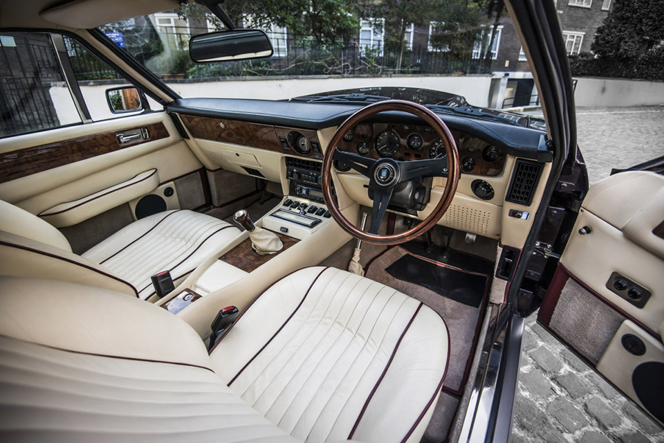 Sir Elton John's Aston Martin V8 Vantage Saloon