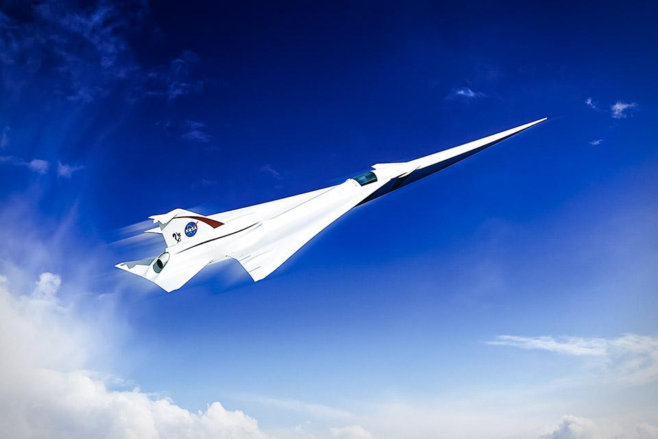 NASA QueSST Passenger Jet