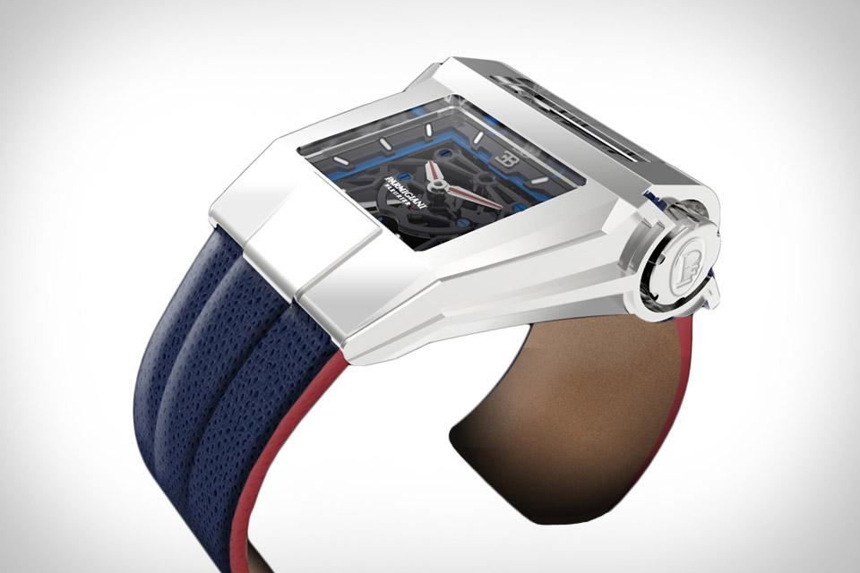 Parmigiani Fleurier x Bugatti Concept Watch