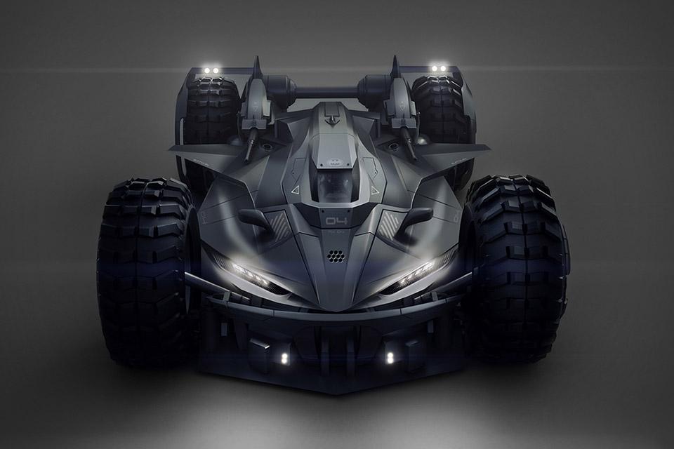 Batmobile Future Concept
