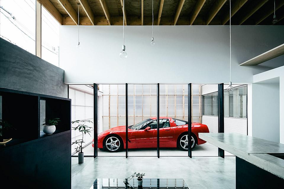 Garage Terrace House