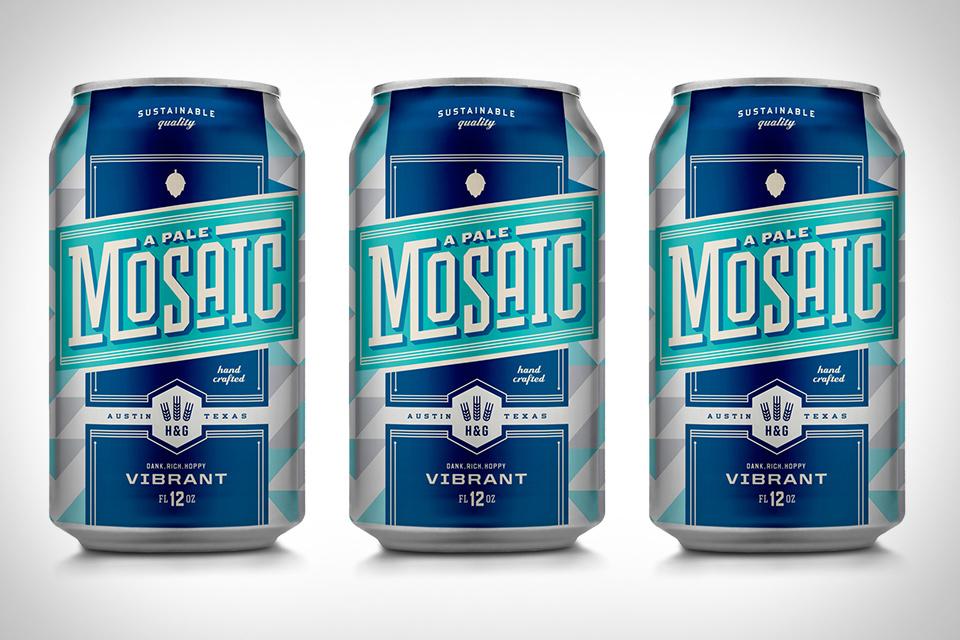 Hops & Grain A Pale Mosaic Beer