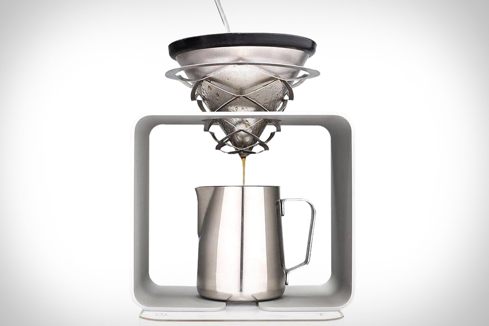 Science Coffee Pour Over Stand