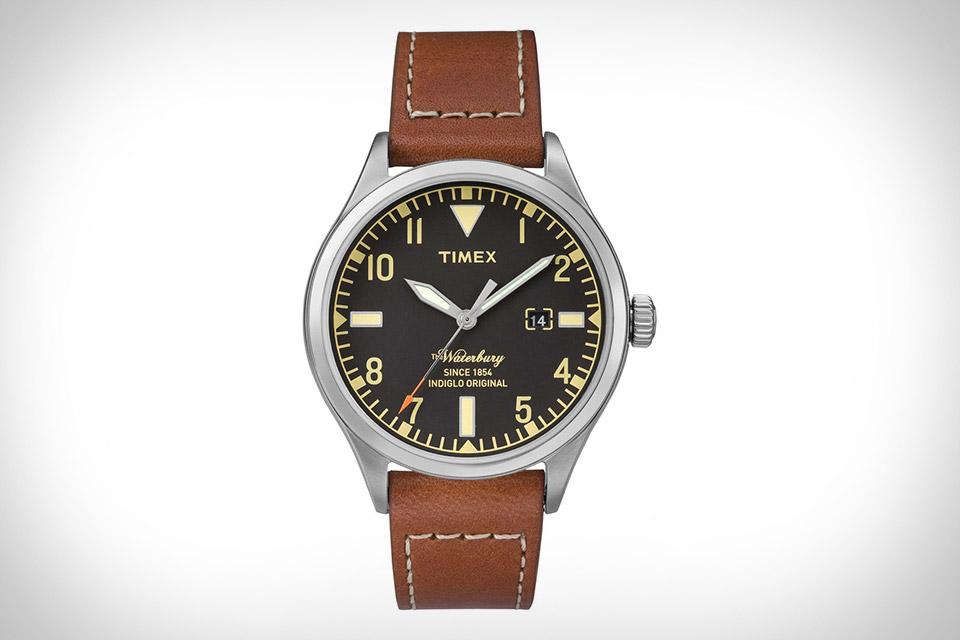 Timex x Red Wing Waterbury Watch