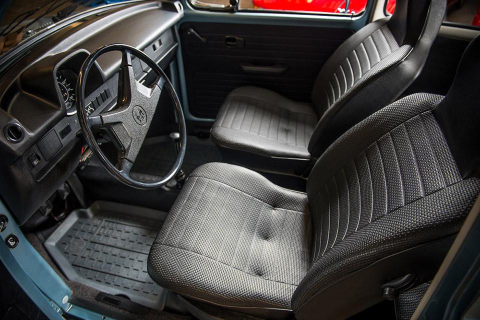 1974 Volkswagen Beetle With 55-Miles