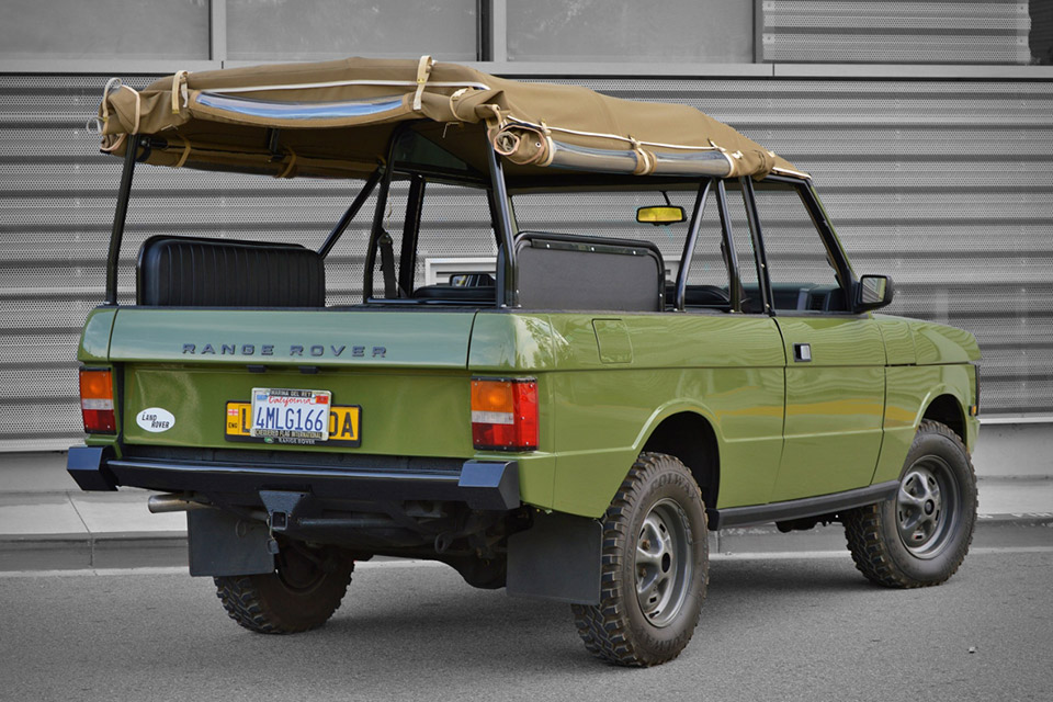 1995 Range Rover Troop Carrier