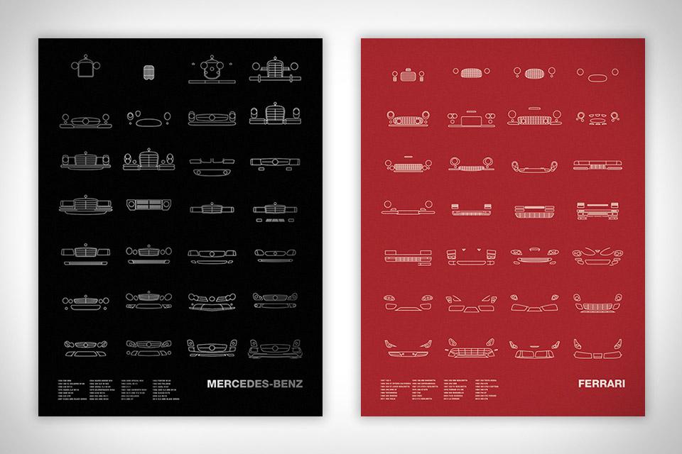 Auto Icon Prints