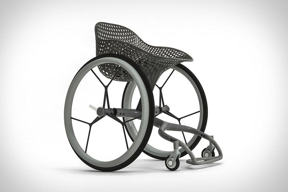 Go 3D-Printed Wheelchair