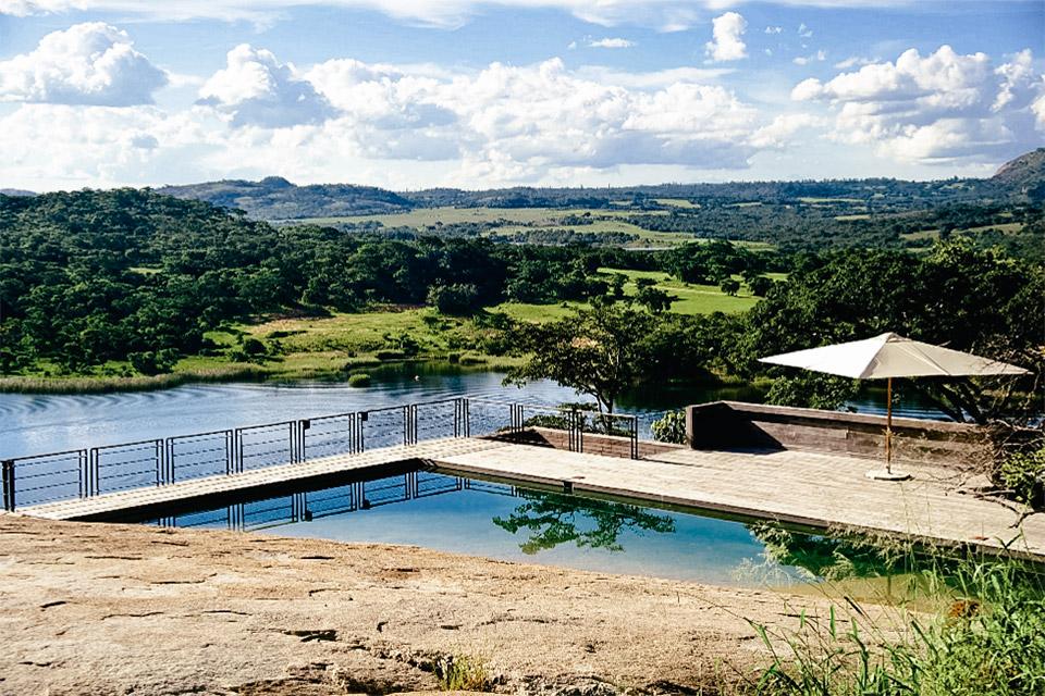 Gota Dam House