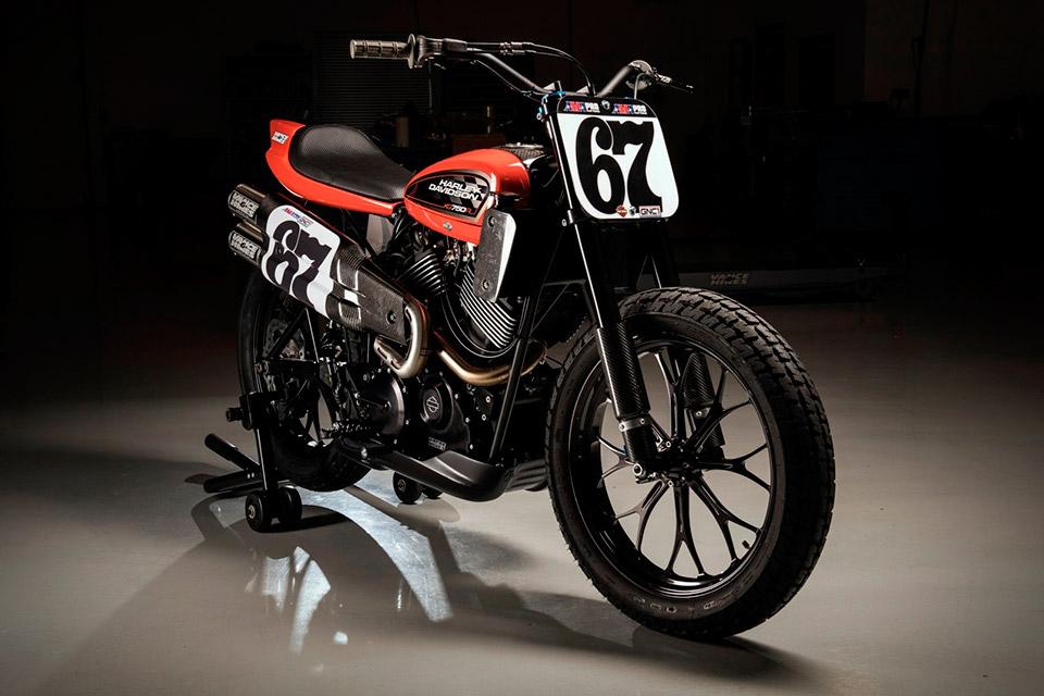 Harley-Davidson XG750R Flat Track Motorcycle