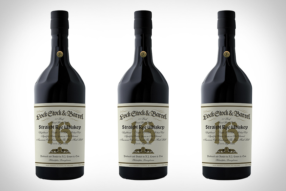 Lock Stock & Barrel 16 Year Rye Whiskey