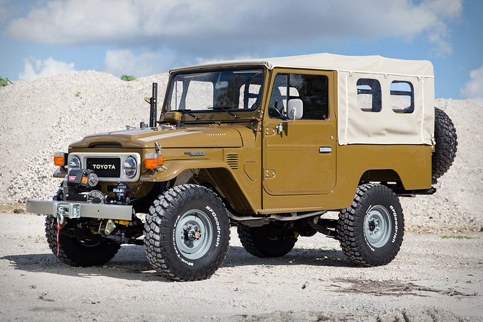 1981 Toyota Land Cruiser FJ43 Copperstate Overland Edition