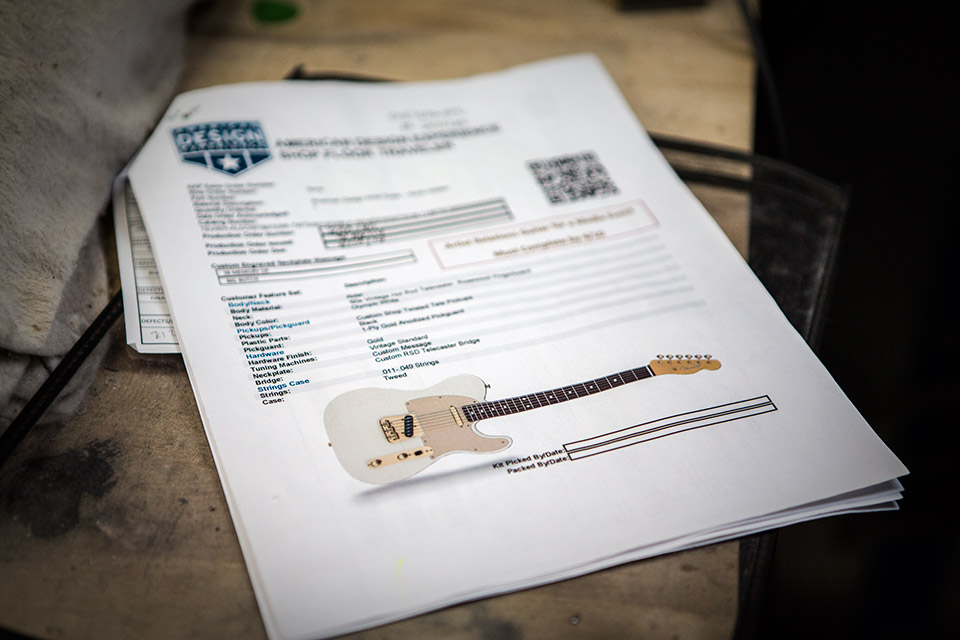 Fender Mod Shop Guitars