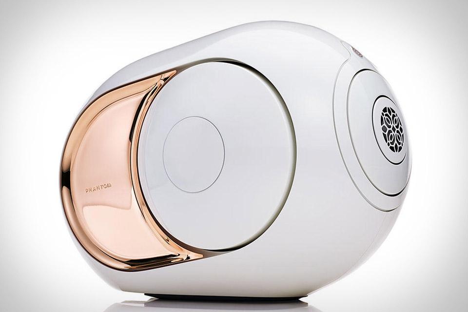 Devialet Gold Phantom Speaker Uncrate