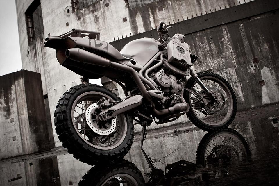 Triumph x Icon Dromedarii Motorcycle