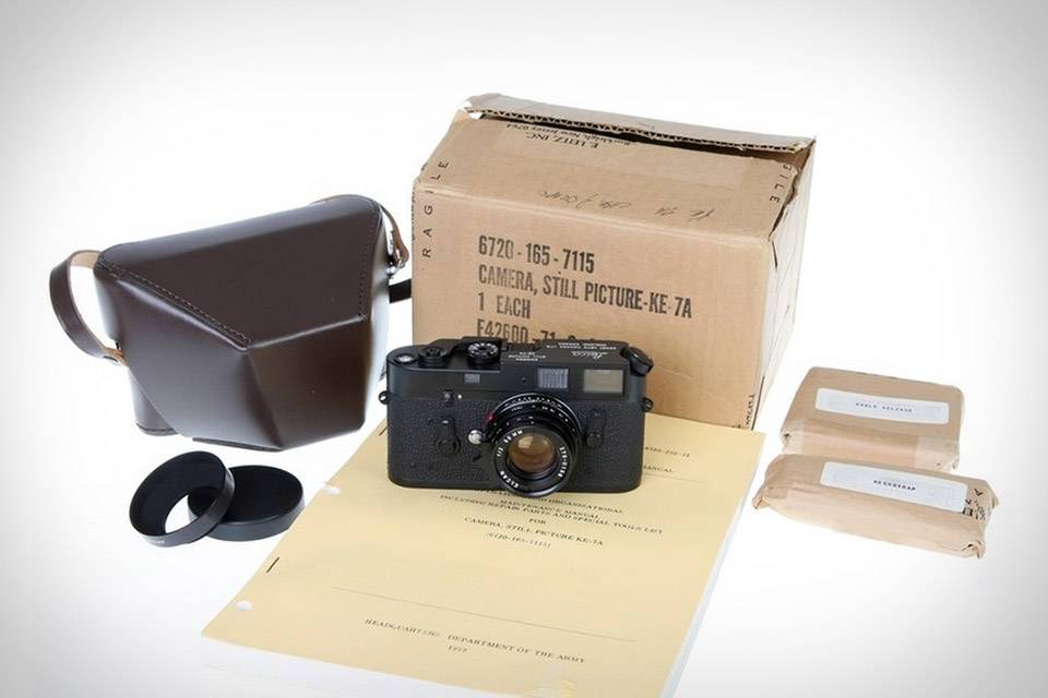 Unopened Leica KE-7A Camera