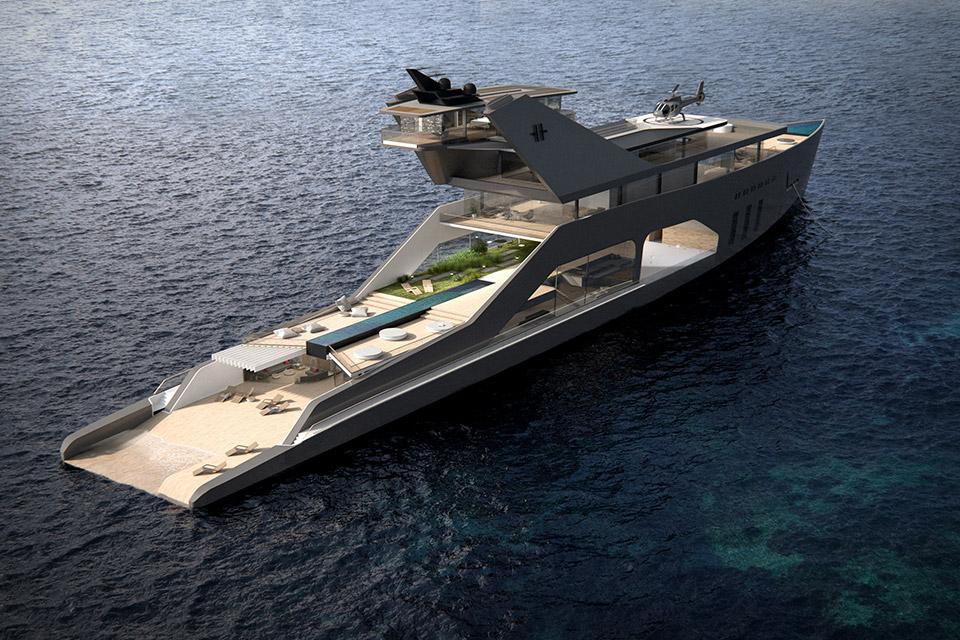 108M Mega Yacht