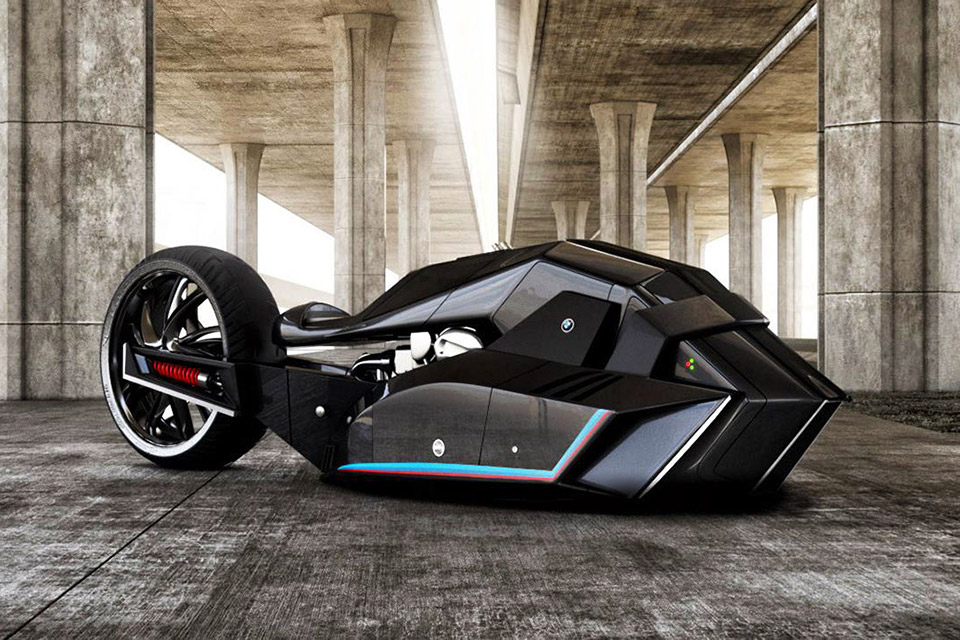 Bmw Titan Motorcycle Concept Uncrate