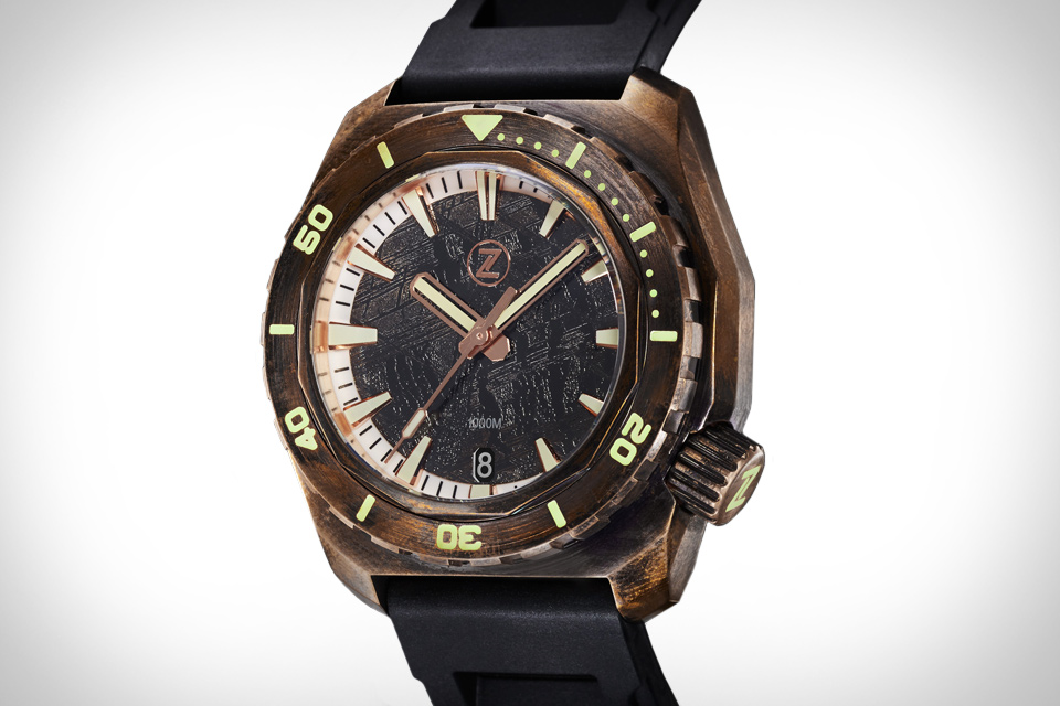 Zelos Hammerhead Bronze Watch