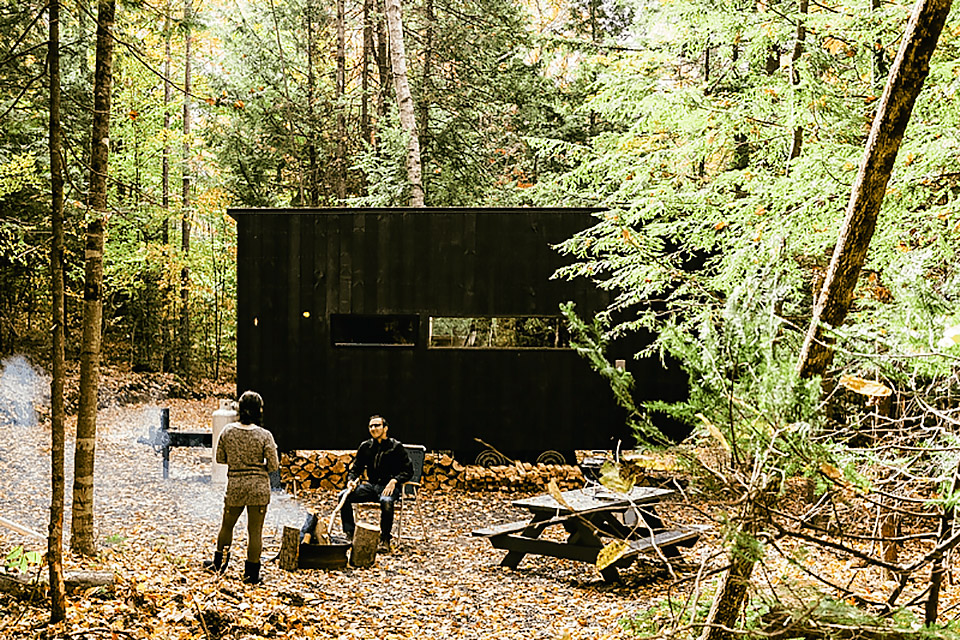 Getaway Cabins Uncrate