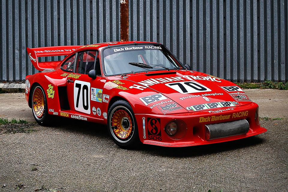 Paul Newman's 1979 Porsche 935 Le Mans Race Car