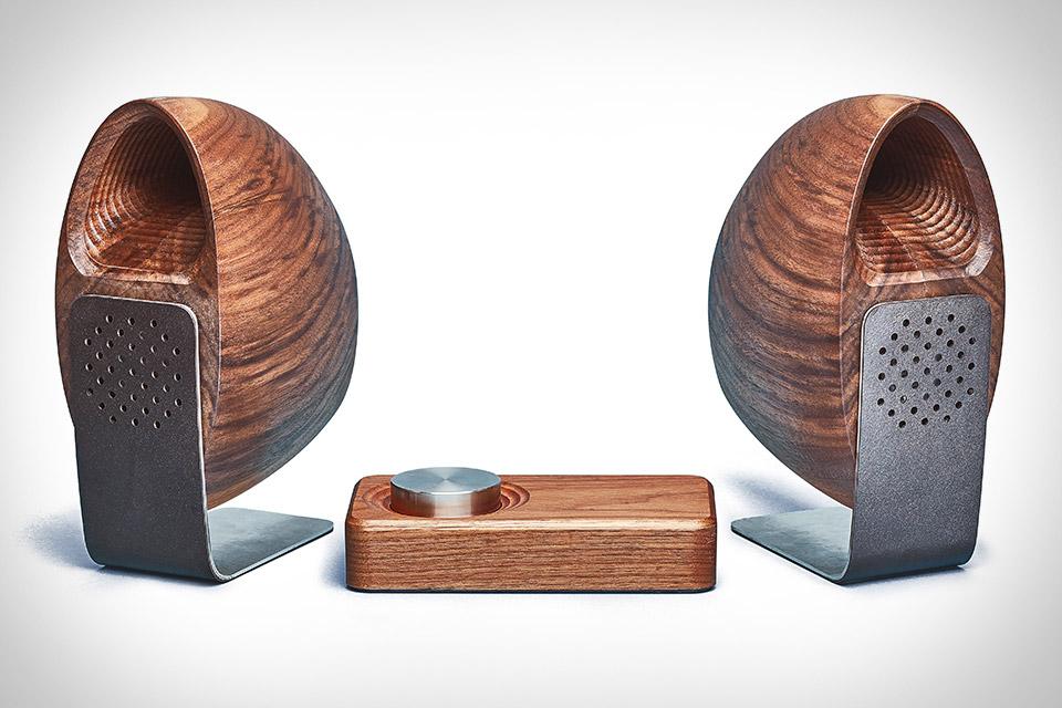 Grovemade Wooden Speaker System
