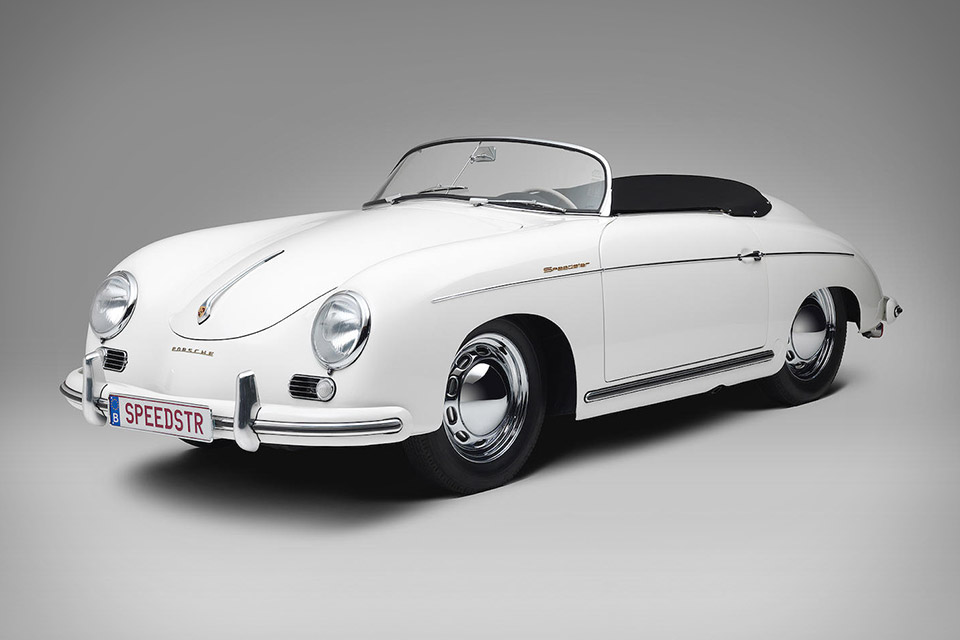 1955 Porsche 356 Pre A 1600 Speedster Uncrate