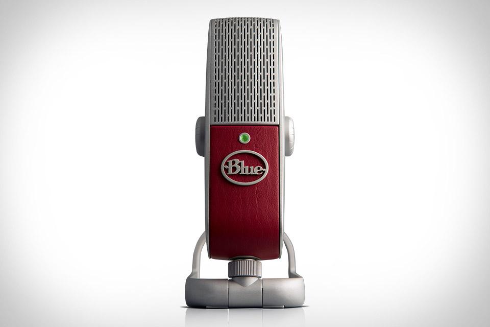 Blue Raspberry Microphone