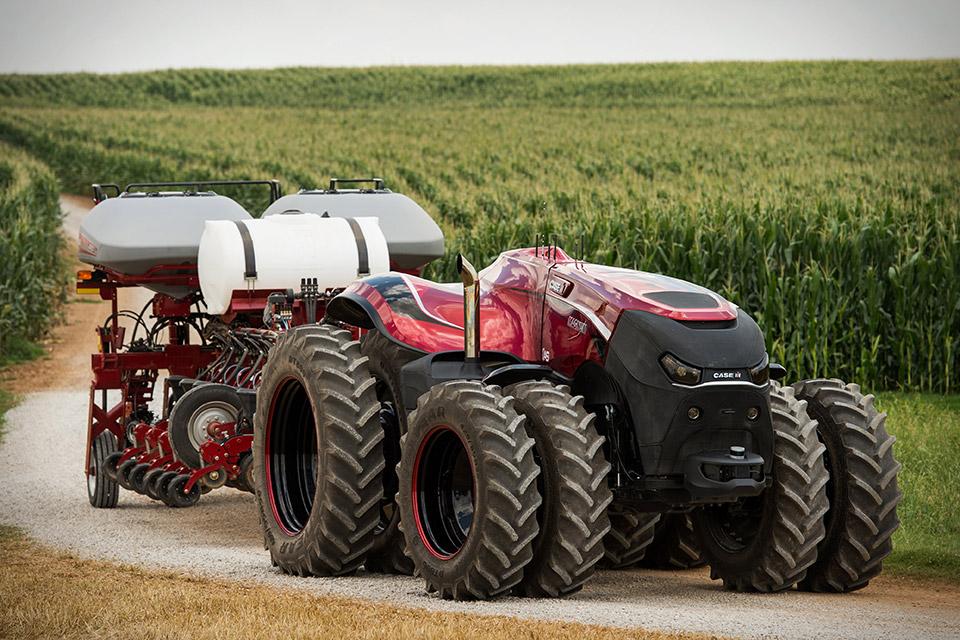 New Case Tractors : Case ih magnum autonomous tractor uncrate