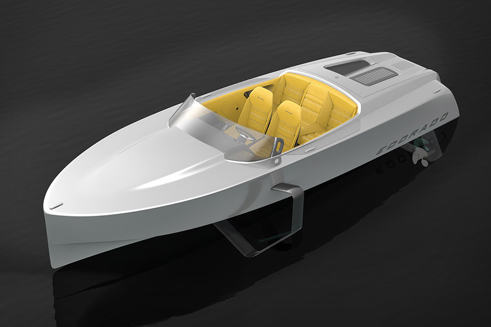 Edorado 7S Electric Speedboat