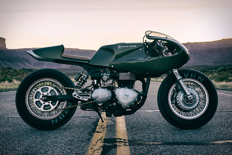 Icon 1000 Three Martini Lunch Motorcycle