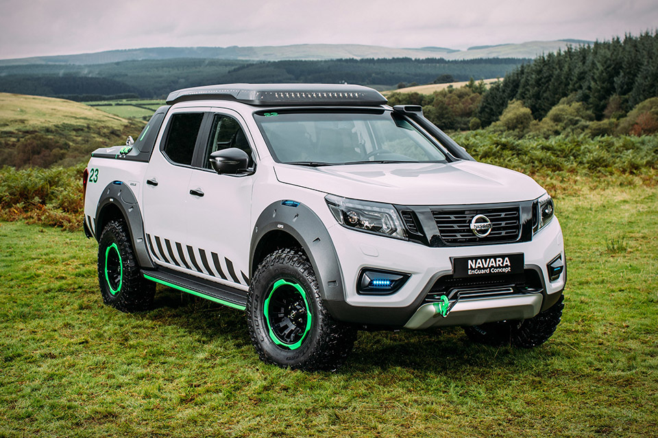 Nissan Navara Enguard Rescue Truck Concept
