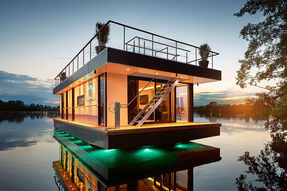 House by the water is nice a house on the water is even better the
