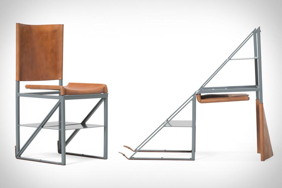 Stephen Kenn x Victorinox Stepladder Chair