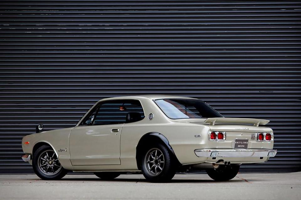 1972 Nissan Skyline Gt R Hakosuka Uncrate