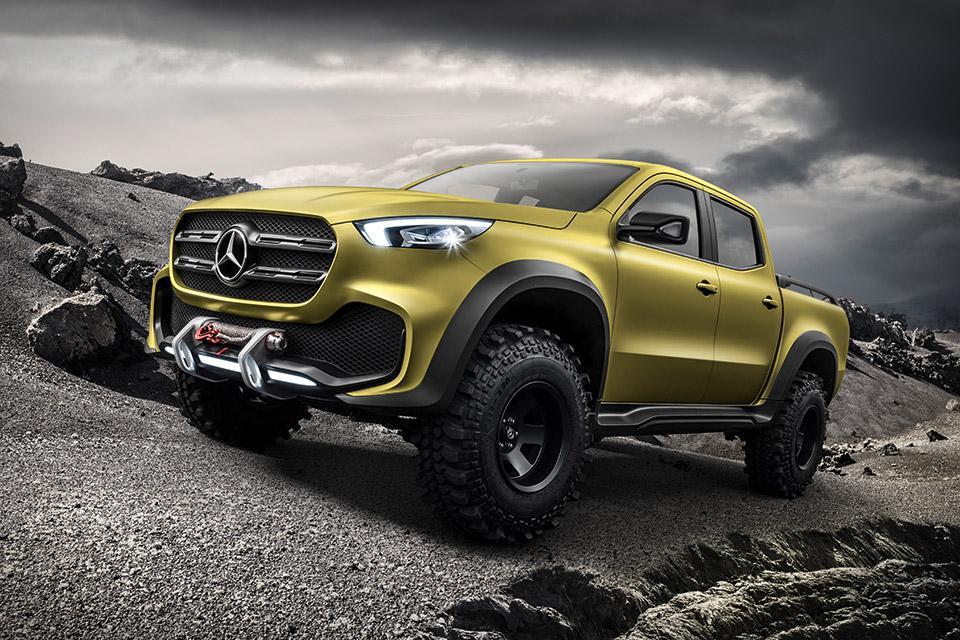 Mercedes-Benz X-Class Concept Truck