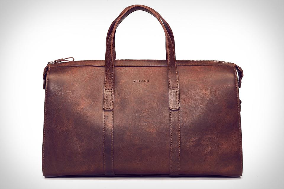 Nisolo Leon Weekender Bag
