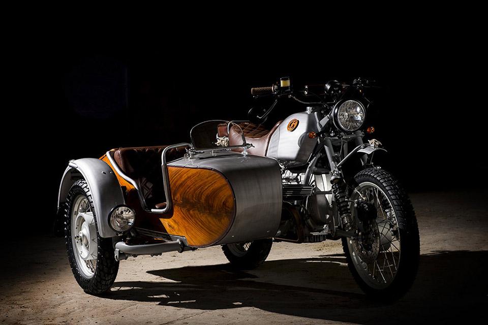 Ocgarage BMW R100 GS Avventura Motorcycle