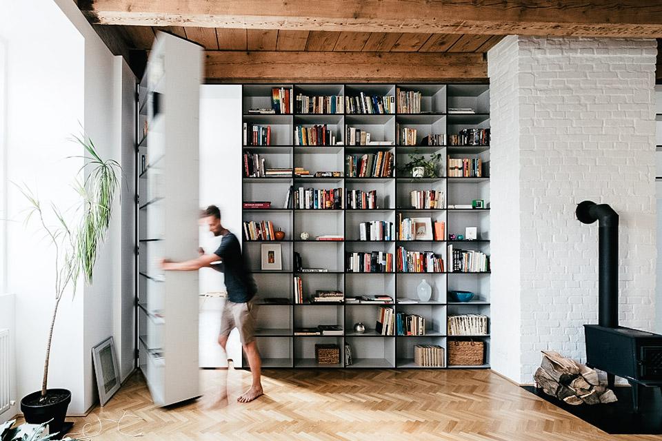 Etonnant Slovakian Hidden Bedroom Apartment | Uncrate